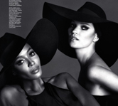 Naomi & Kate – Interview Mag Russia, December 12